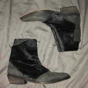 Freepeople pony hair boots